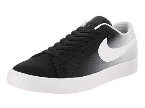 Nike Uomo, SB Blazer Vapor Textile Skateboarding Black White Pure Platinum, Tessuto, Sneakers, Nero