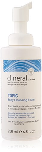 AHAVA Clineral Topic Body Cleansing Foam, 6.8 Fl Oz