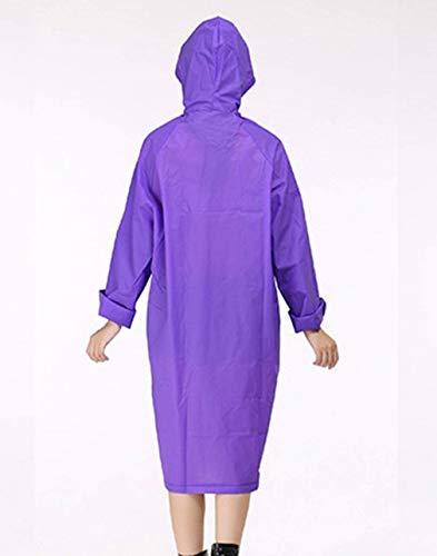 De Chics Unie Femmes Tranchée À Extérieure Couleur Violet Veste Vêtements Cordon Des Capuche Pluie Avec Mode Manteau Imperméable dqwnntzSgv