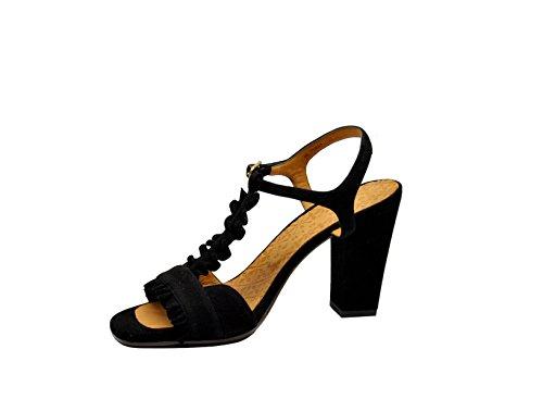 Chie Mihara Sandalias de Vestir Para Mujer Negro Negro It - Marke Größe