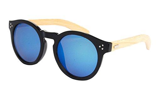 hombre Insun para Gafas 4023MC4 Frame sol de Wood qrIawnxrf1