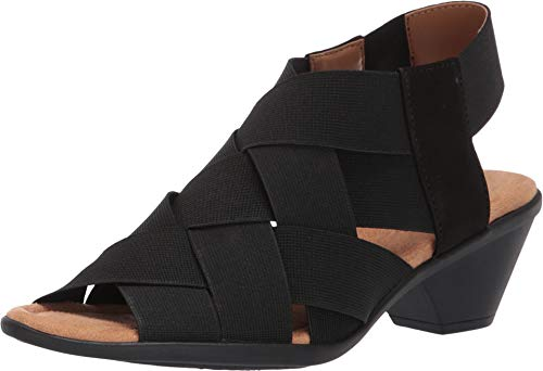 Comfortiva Women's, Farrow Sandal Black 7 M