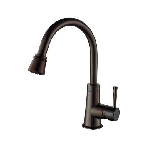"""UPC 846639002851, 32.75"""" x 18.5"""" Double Bowl Undermount Kitchen Sink with Faucet Finish: Oil Rubbed Bronze"""