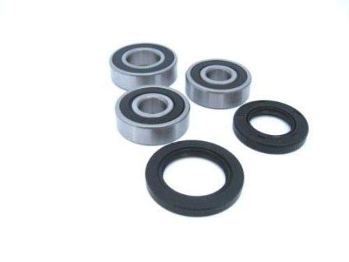 (Boss Bearing H-CR125-RW-90-99-2J4 Rear Wheel Bearings and Seals Kit for Honda CR125R 1990-1999)