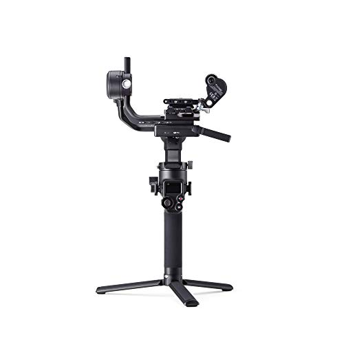 DJI RSC 2 Combo – 3-Axis Gimbal Stabilizer for DSLR and Mirrorless Camera, Nikon Sony Panasonic Canon Fujifilm, 3kg Payload, Vertical Shooting, OLED Screen, Black