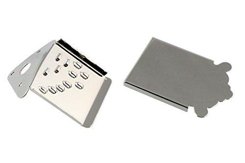 Allparts Mandolin Tailpiece Nickel MT 0987-001