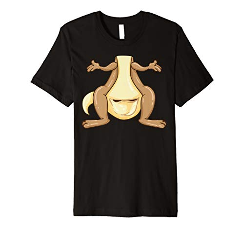 Funny Kangaroo Costume Shirt - Funny Halloween Easy DIY Gift ()