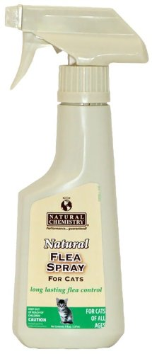 Natural Chemistry Natural Flea Spray for Cats (8 oz)_LQ