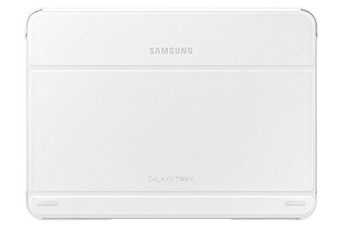 Samsung Tab4 10.1 Book Cover in White
