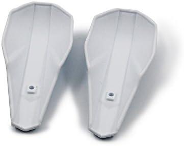 blanc Prot/ège-mains en plastique moto 7//8 22mm et 1 1//8 28mm prot/ège-mains pour dirt bike hors route VTT Yamaha Kawasaki Suzuki Honda KTM