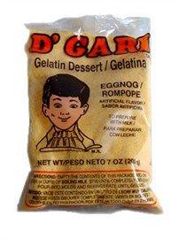 Dgari, Gelatin Prep Milk Eggnog, 6-Ounce by D'Gari (Image #1)