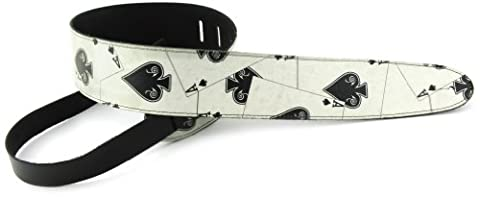Perris Leathers P25OL-35 2.5-Inch Leather with High Resolution Funky Design (Funky Guitar Strap)