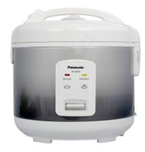 Panasonic SR-JN105 Electric Rice Cooker (5 Cup Uncooked Rice Capacity) – Silver