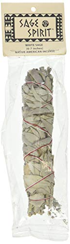 SAGE SPIRIT White Sage Smudge Wand 6-7, 0.02 Pound