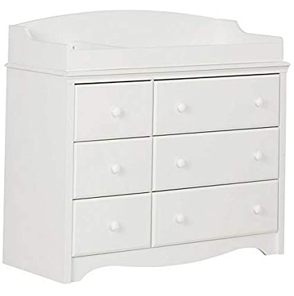 Amazon.com: Hebel Angel 6 Drawer Changing Table/Dresser ...
