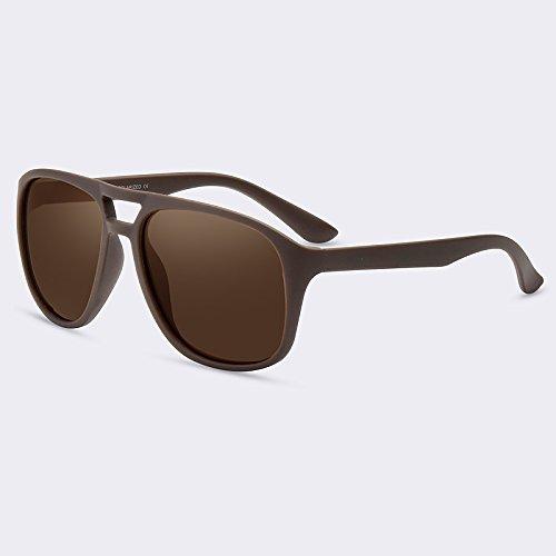 de Gafas masculina gafas Gafas hombre alta hombres para Guía HD C02Brown C04azul TIANLIANG04 de gafas sol Moda polarizadas calidad sol de gStCwUnax