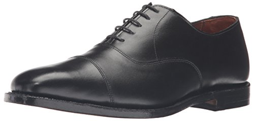 Allen Edmonds Men's Exchange Place Oxford, Black, 10.5 D US