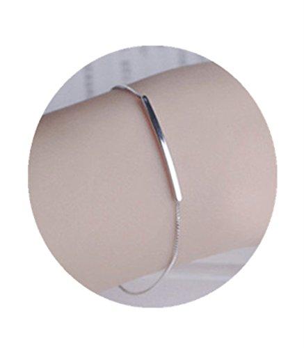 Bar 925 Sterling Silver Bracelet - 2