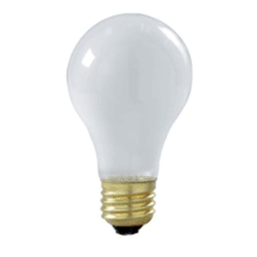 - S3927 60w A19 Shatter-Proof Lamp - Medium Base - Frosted 130v 2/Pk