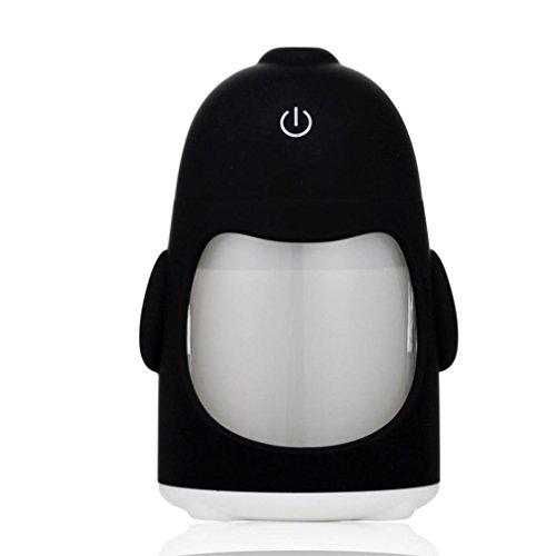 Matoen(TM) Portable Penguin Humidifier Mini Night Light USB Humidifier Air Purifier (White) by Matoen (Image #1)