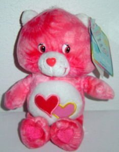Care Bears LOVE-A-LOT TIE DYE Plush (Special Edition #5 of 6 In Series) NEW!! ()