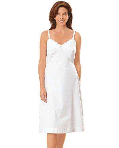 Slips Cotton Ladies - Velrose Lingerie Cotton Full Slips 24