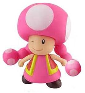 "Amazon.com: Super Mario Brother PVC 4"" Figure Toadette ..."