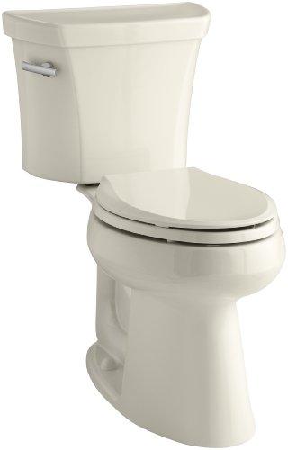 Kohler K-3889-47 Highline Comfort Height 1.28 gpf Toilet, 10-inch Rough-In, -