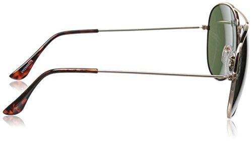 e5c1975f47 zeroUV ZV-1041d Original Classic Metal Standard Aviator Sunglasses ...