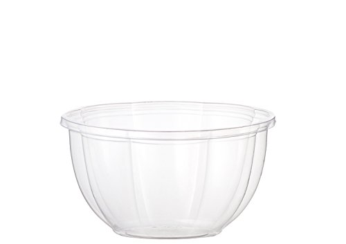 World Centric's 100% Biodegradable, 100% Compostable 16 Ounce Clear PLA Salad Bowl (Case of 450) (Pla Bowl)