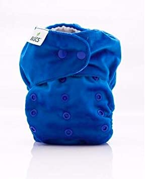 Bambooty Basics Two Part Washable Cloth Nappy Peppermint