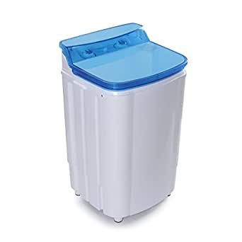 arksen della portable washing machine single tub spin dry built in pump 6. Black Bedroom Furniture Sets. Home Design Ideas