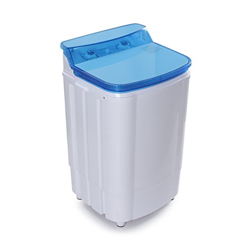Price comparison product image DELLA | Portable Washing Machine | Single Tub | Spin Dry | Built in Pump | 6.5KG | 14 LBS. Capacity| Dorm | Home | RV | White