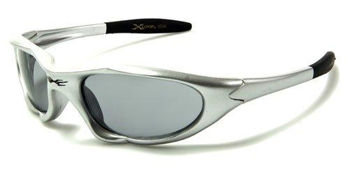X-Loop Jungen Sonnenbrille Silber White Flame