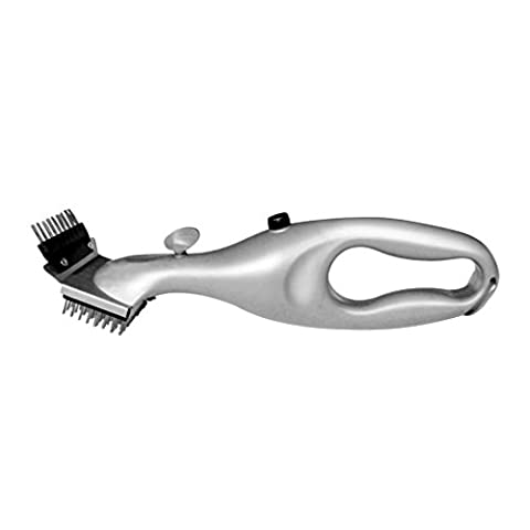 Stainless Steel BBQ Brush, CENDA Original Steam Grill Cleaning Tool Cleaner Barbecue Tool for Healthier Tastier Barbeque -22 x 7 x 4.75 - Self Cleaning Stainless Steel Grill