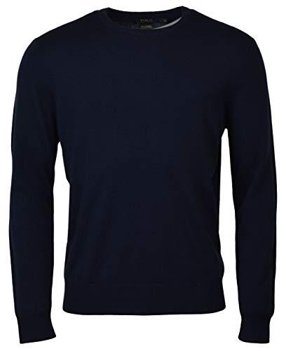 Mens Crewneck Cashmere Sweater - 2