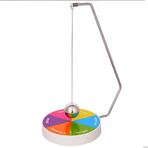 Executive Magnetic Metal - edealing(TM) Magic Novelty Decision Maker Magnetic Pendulum Fun Executive Office Toy Have Fun(Colorful)