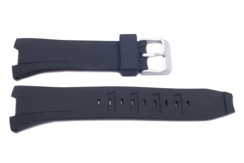 Seiko Coutura Ladies (Genuine Seiko Black Rubber Coutura 20mm Watch Strap)