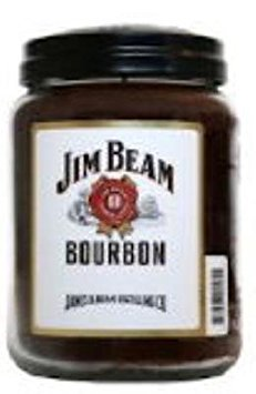 Candleberry Kentucky Bourbon Jim Beam 26 oz Scented Jar Candle by by Candleberry