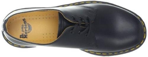 Dr. Martens 1461 Crazy Horse, Zapatos de Cordones Oxford para Hombre negro