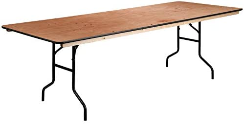 Flash Furniture 36x96 Wood Fold Table 36 By 96 Brown Furniture Decor