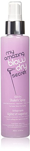 Hair Blow Drying Styling Spray: My Amazing Blow Dry Secret Quick Dry Shake'n Spray, 6.78 oz by My Amazing