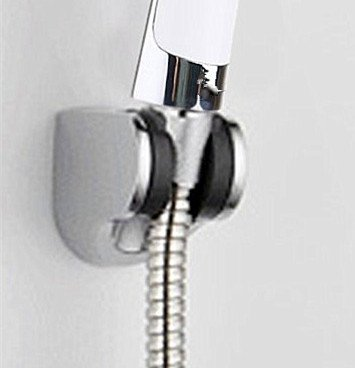 Chrome Polished 2 Pack for Bathroom by Cagonlife Hand Held Shower Head Bidet Sprayer Holder Mount Bracket Shower Head Holder shower head mount holder