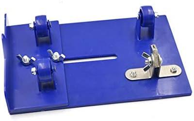 MARIJEE Cortador de botellas de cristal multifunción 2 en 1, herramienta de cocina, cortador de botellas con marca de tamaño para cortar redondo (azul)