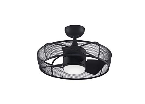 Fanimation FP8519BL Henry Fan-Light Kit, Black