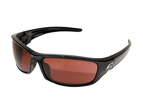 - Edge Eyewear SR115 Reclus Safety Glasses, Black with Copper