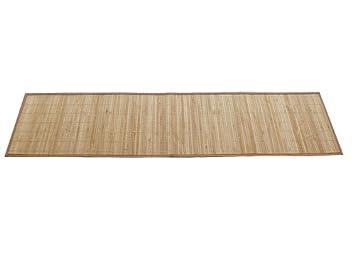 2 Bambus Tischlaufer In Heller Holzoptik Masse Ca 35x133cm Amazon