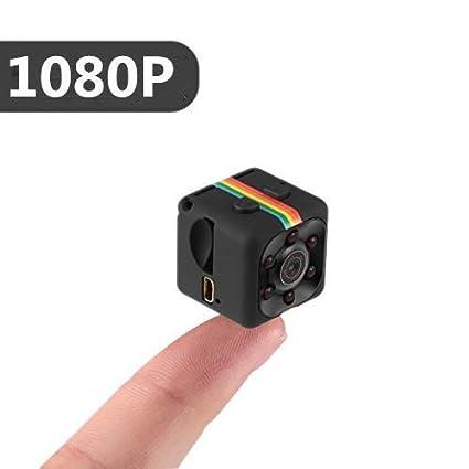 Mini Cámara Espía 1080P HD Cámara de Vigilancia Portátil Secreta y Compacta con Detector de Movimiento