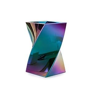 Zodaca [Wave Design] Stylish Wave Pen Pencil Holder Desktop Stationery Organizer, Aurora