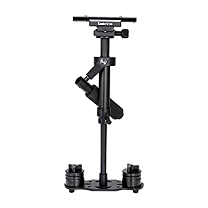 "Koolertron H-40/S40 40cm/15.75in Mini Handheld Stabilizer With Quick Release Plate 1/4"" Screw For DSLR Camera Canon Nikon Sony"